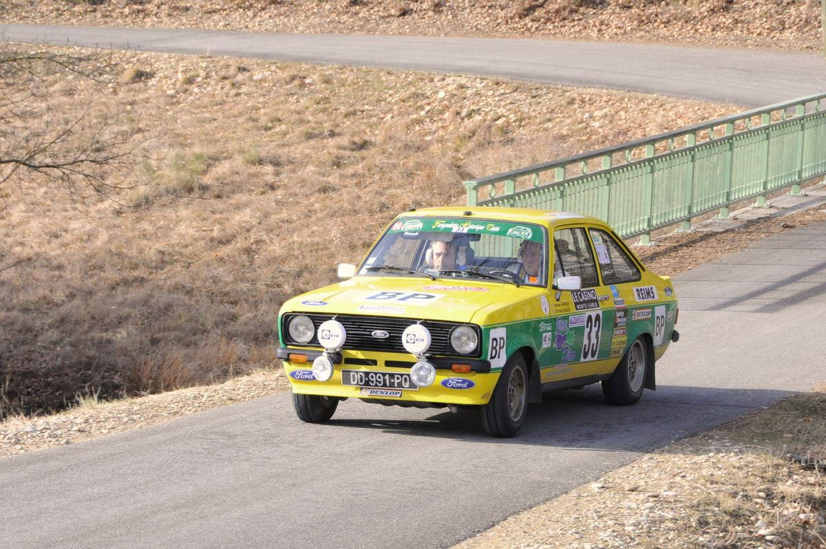 Dominique Larroque(F)/Christophe Marques(F) Ford Escort 1,6 1978 ..... Photo : R.S.