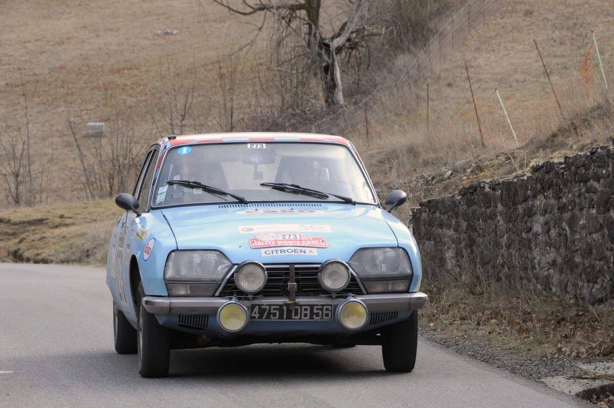 Philippe et Jean-Marc Robic(F) Citroën GS 1973 ..... Photo : R.S.