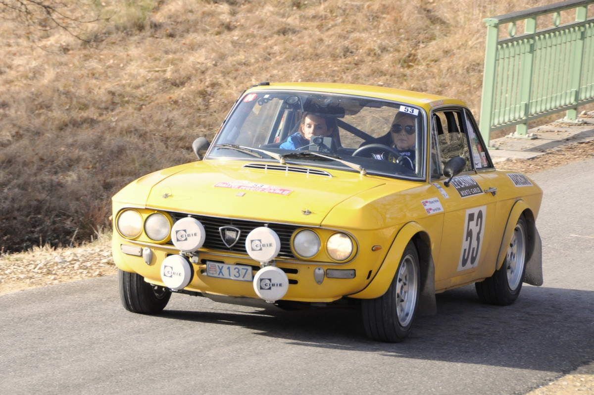 Tiffaney Perlino(MC)/Harriet Ross(GB) Lancia Fulvia 16000 HF 1972 ..... Photo : R.S.