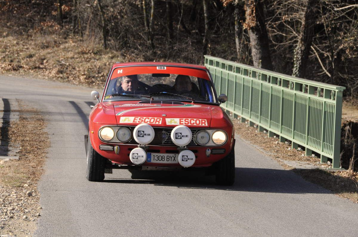 Giovanni Breda(E)/Secondino Suarez(E) Lancia Fulvia 1600 HF 1971 ..... Photo : R.S.