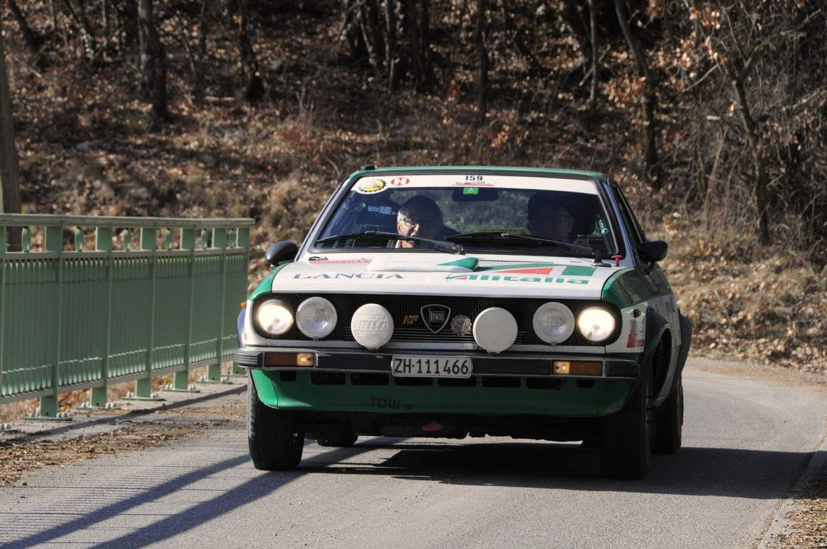 Albert Vicentini(CH)/Kurt Waldmeier(CH) Lancia Beta Coupé 1978 ..... Photo : R.S.