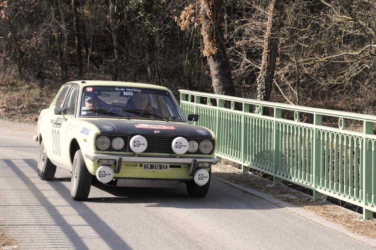 Vincent Rasquin(F)/Alexandre Moreau-Lespinard(F) Fiat 128 Coupé 1975 ..... Photo : R.S.