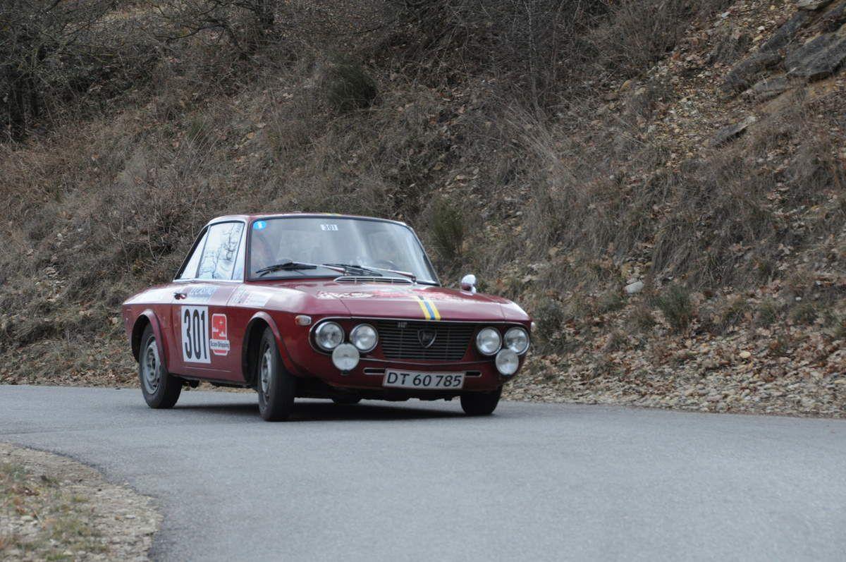 Kenneth Simonsen(DK)/Otto Kristensen(DK) Lancia Fulvia 1,3 HF 1968 ..... Photo : R.S.
