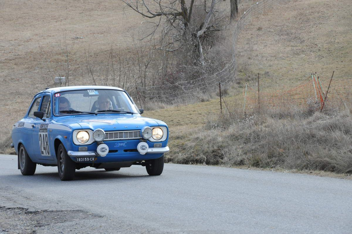 Lucio et Nicola Bugatti(I) Ford Escort Mexico 1972 ...... Photo : R.S.