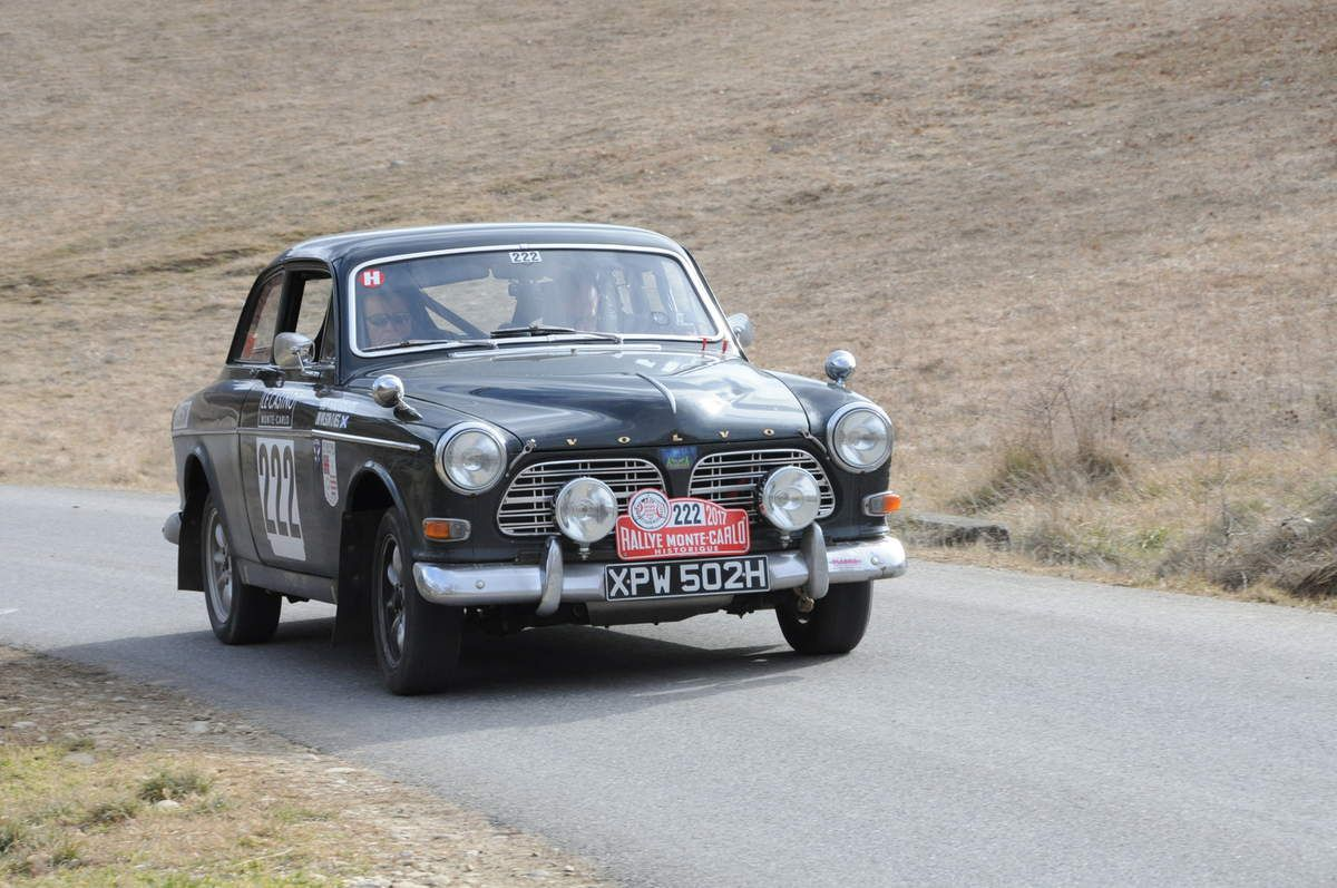Andrew Thomlinson(GB)/James Wilson(GB) Volvo 122 S 1969 ..... Photo : R.S.
