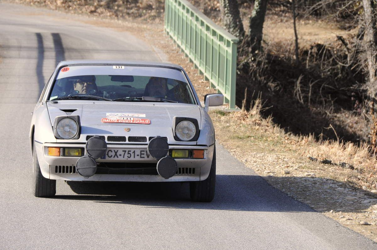 André et Jean-Pierre Grangeon(F) Porsche 924 Turbo 1979 ..... Photo : R.S.
