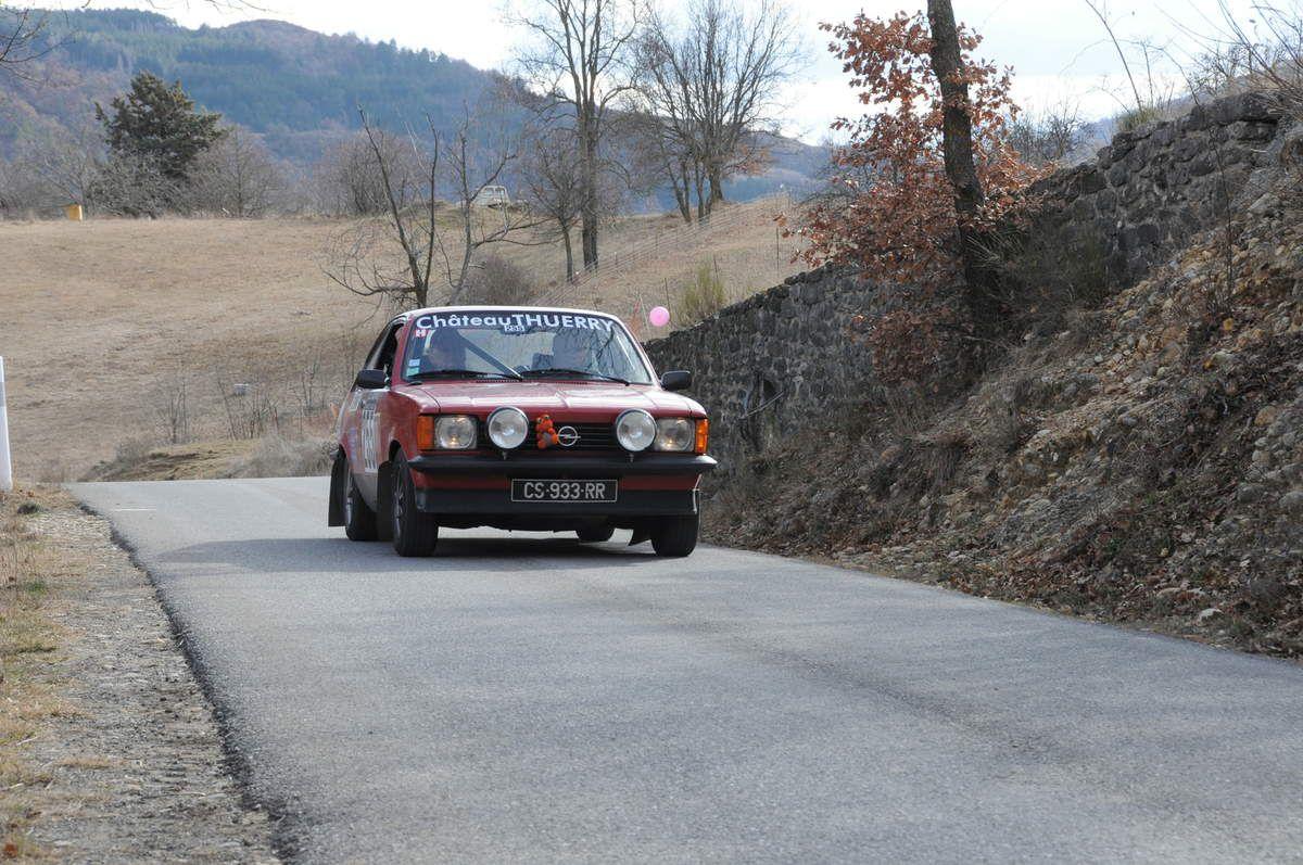 Jean-Damien Andreutti(F)/Christian Gras(F) Opel Kadett GTE 1979 ..... Photo : R.S.