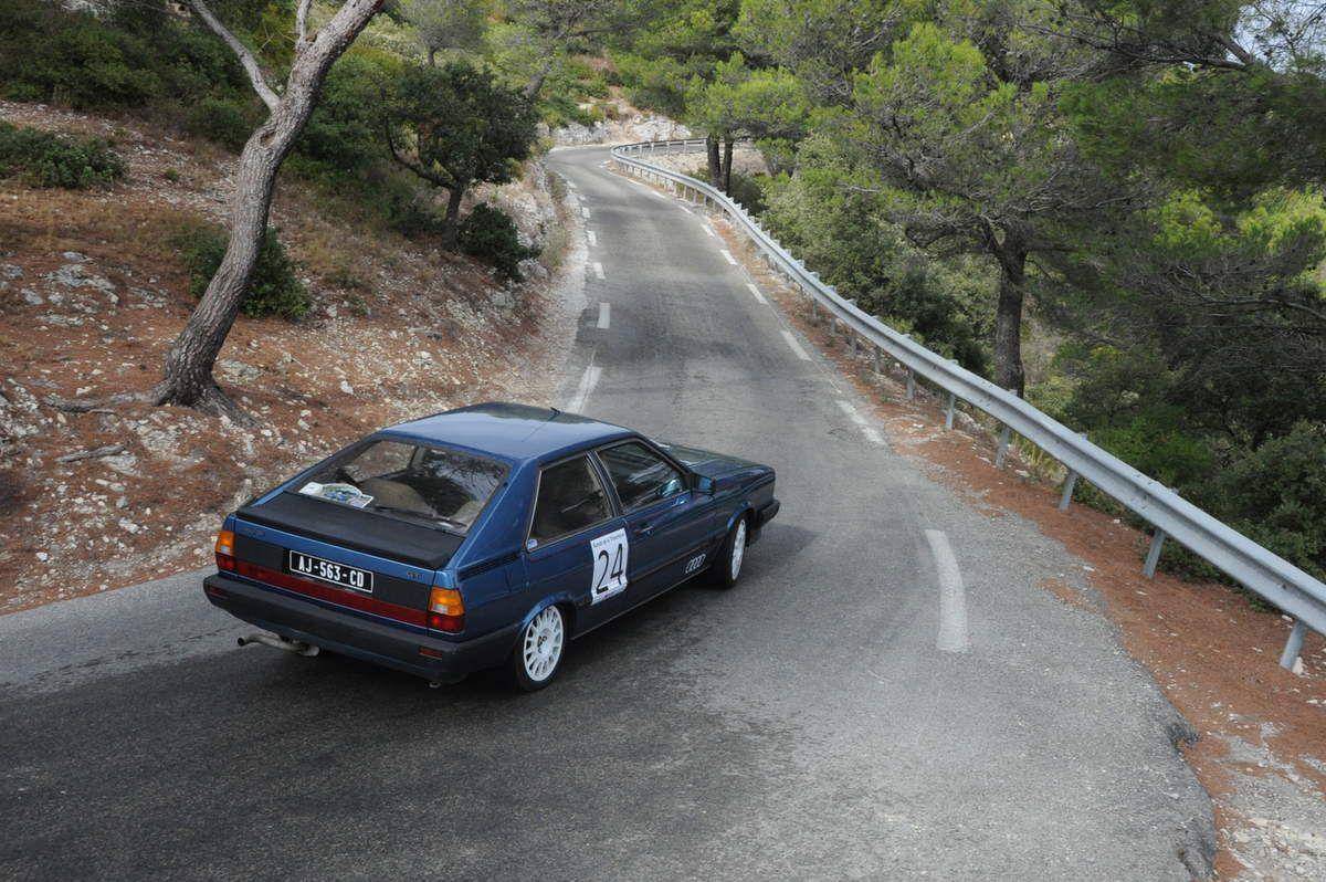 Bruno & Anne-Frédérique Videau Audi GT 5E 1983
