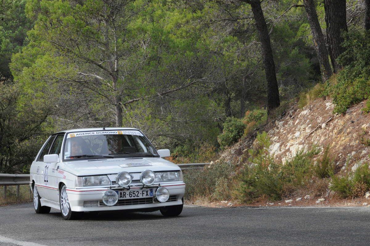 Guy & Elodie Barriol Renault 11 Turbo 1988