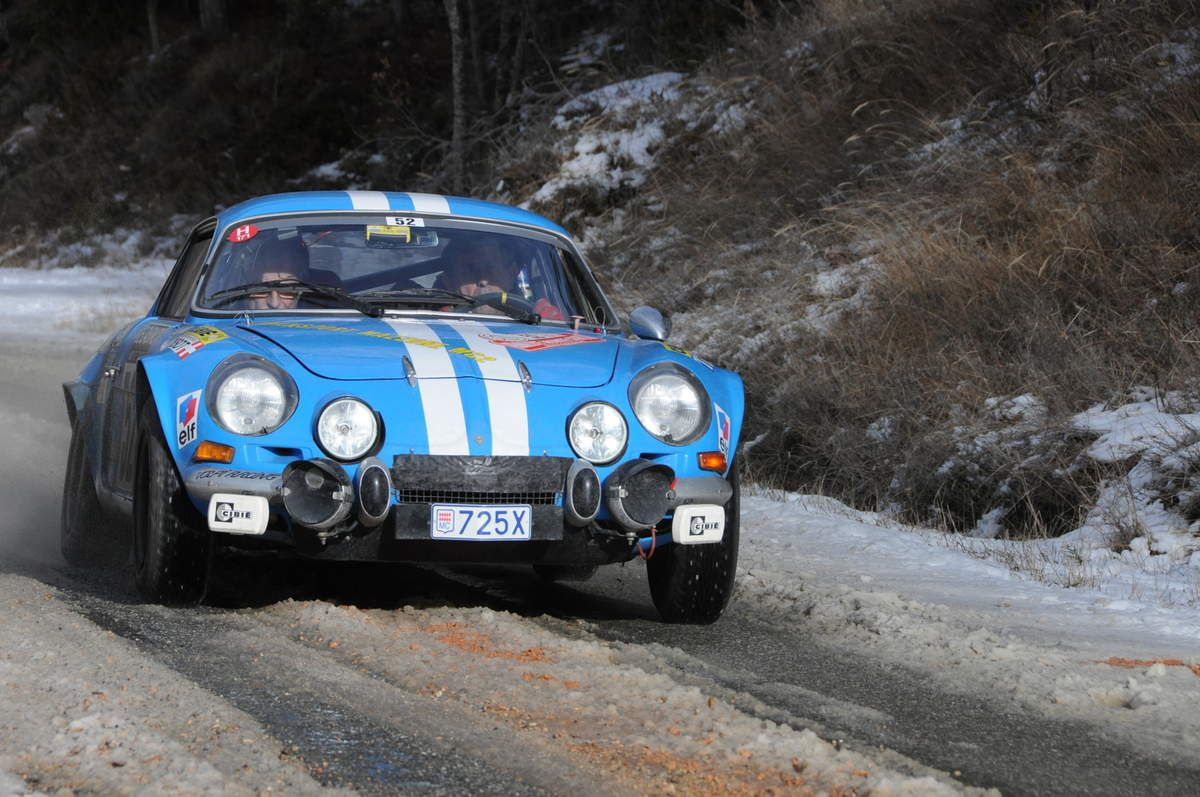 Michel Mazzone(I)/Guy Grossi(F) Alpine A110 1600 S 1970 ..... Photo : R.S.