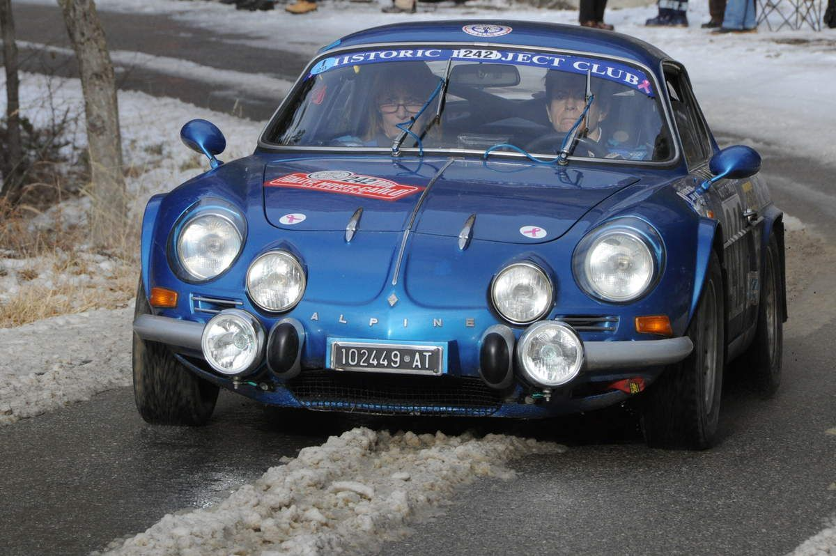 Alexia Giugni(I)/Mary Vicari(I) Alpine A110 1300 1971 ..... Photo : R.S.