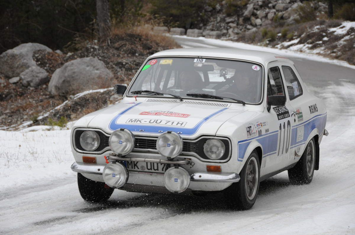 Steffi EdelHoff(D)/Birgit Binder(D) Ford Escort RS 2000 MK I 1973 ..... Photo : Rémi Saumont