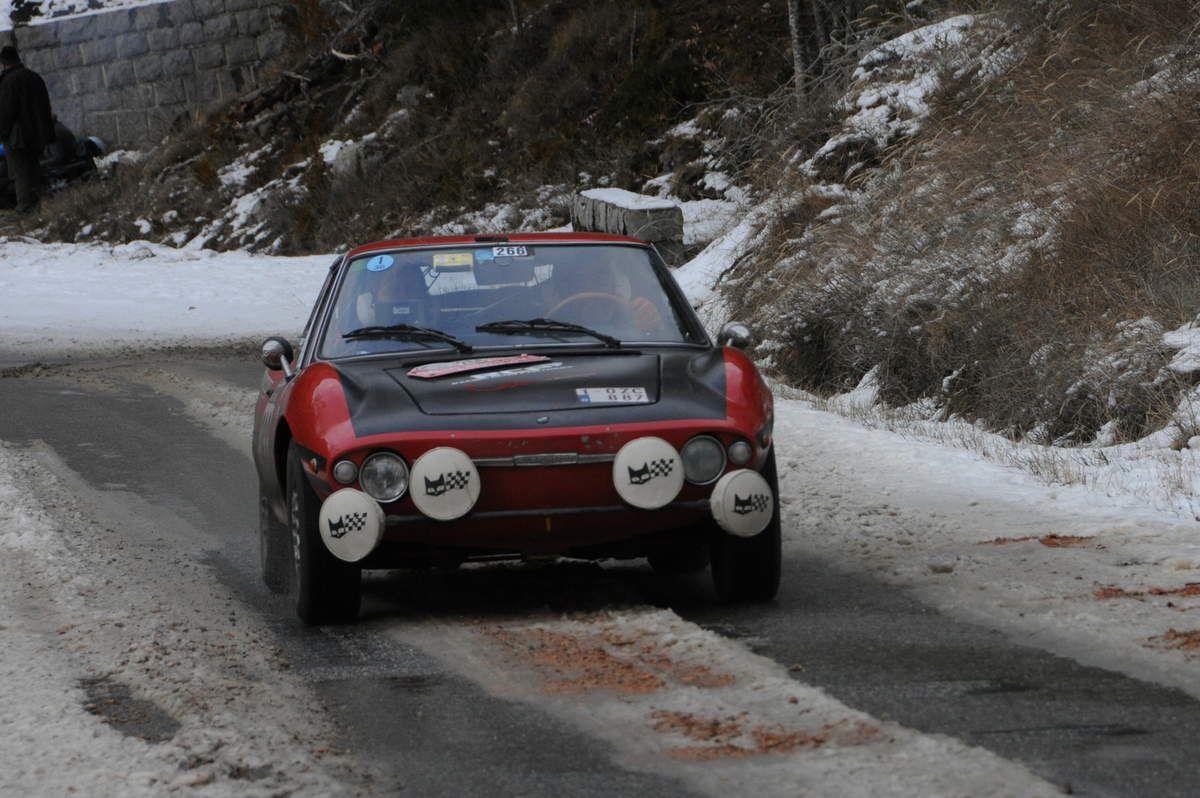 Didier Lodewyckx(B)/Patricia Lambert(B) Fiat Morelli 850 S 1968 ..... Photo : R.S.