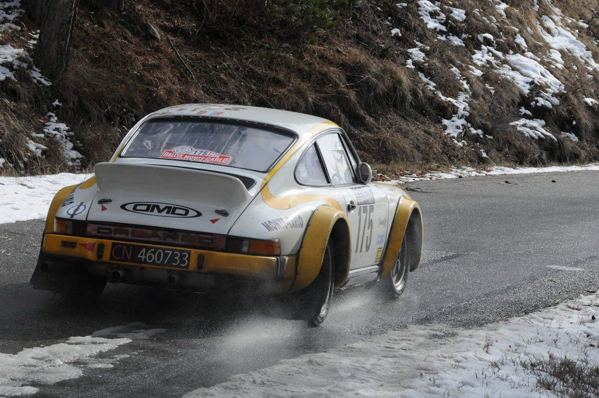 Davide & Amilcare Stancheris(I) Porsche 911 SC 1976 ..... Photo : R.S.