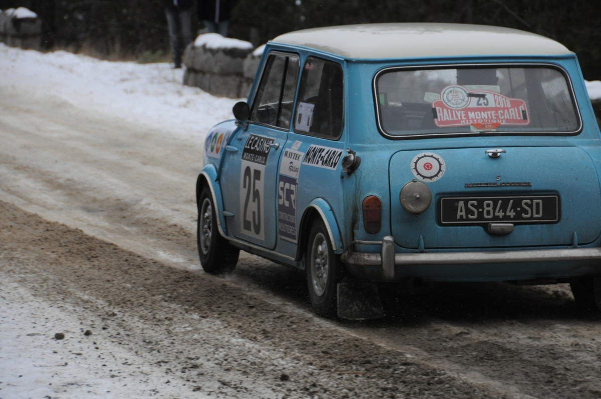 Ludovic Bincaz(F)/Frédéric Payan(F) Morris Mini Cooper S 1965 ..... Photo : R.S.