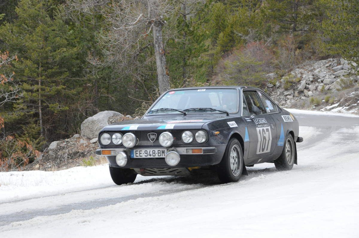 Didier & Maryse Boutillier(F) Lancia Beta Coupé 1978 ...... Photo : R.S.
