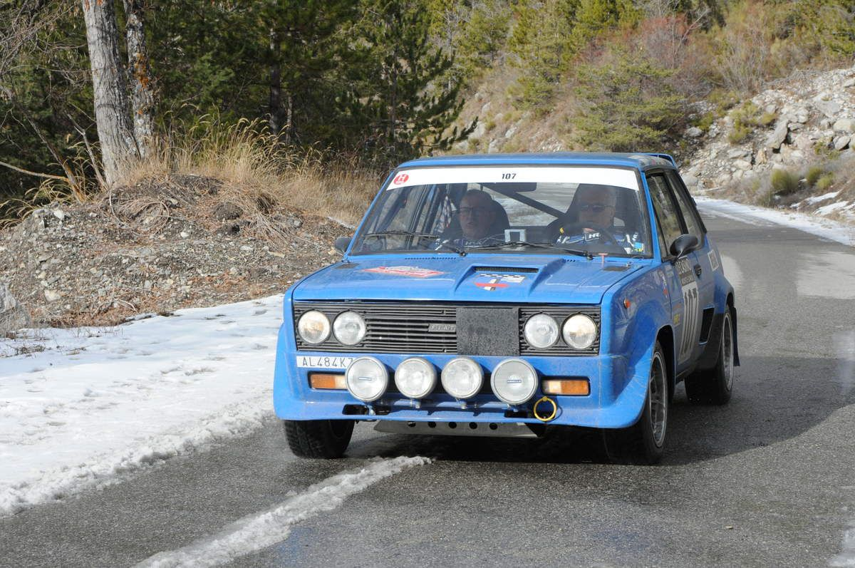 Ruggero Brunori(I)/Claudio Filippini(I) Fiat 131 Abarth 1976 ..... Photo : R.S.
