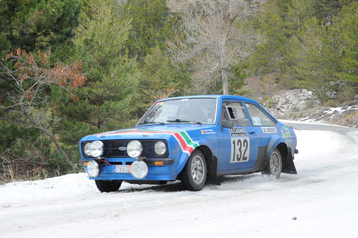 Gabriel Stanciu(Ro)/Georgios Ladopoulos(Ro) Ford Escort 2000 MK2 1975 ..... Photo : R.S.