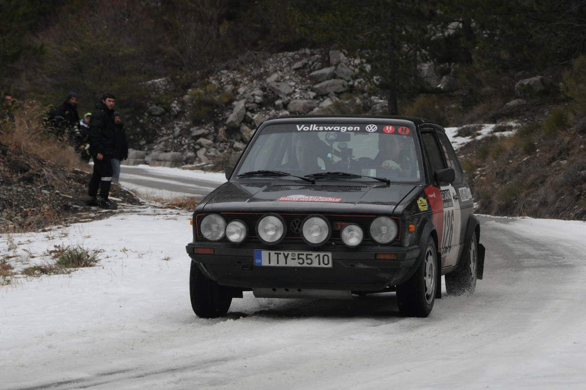 George Delaportas(GR)/Spyros Moustakas(GR) Volskwagen Golf GTI 1,6 1979 ..... Photo : R.S.
