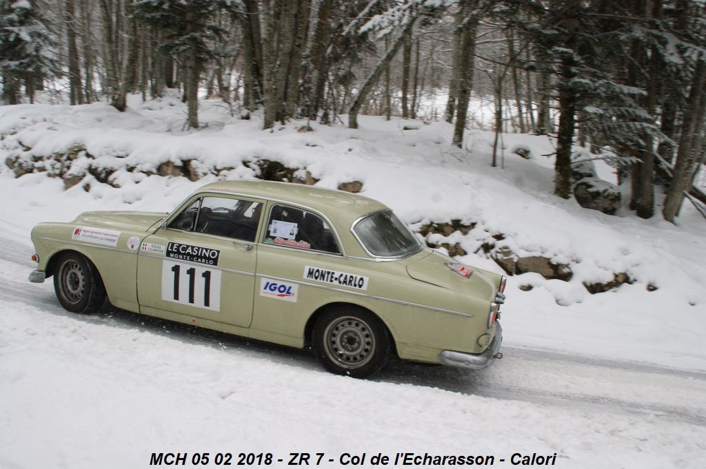 "Richard Kuss(F)/Joelle Clarysse(F) Volvo 122 S 1963 ..... Photo : ""Calori"""