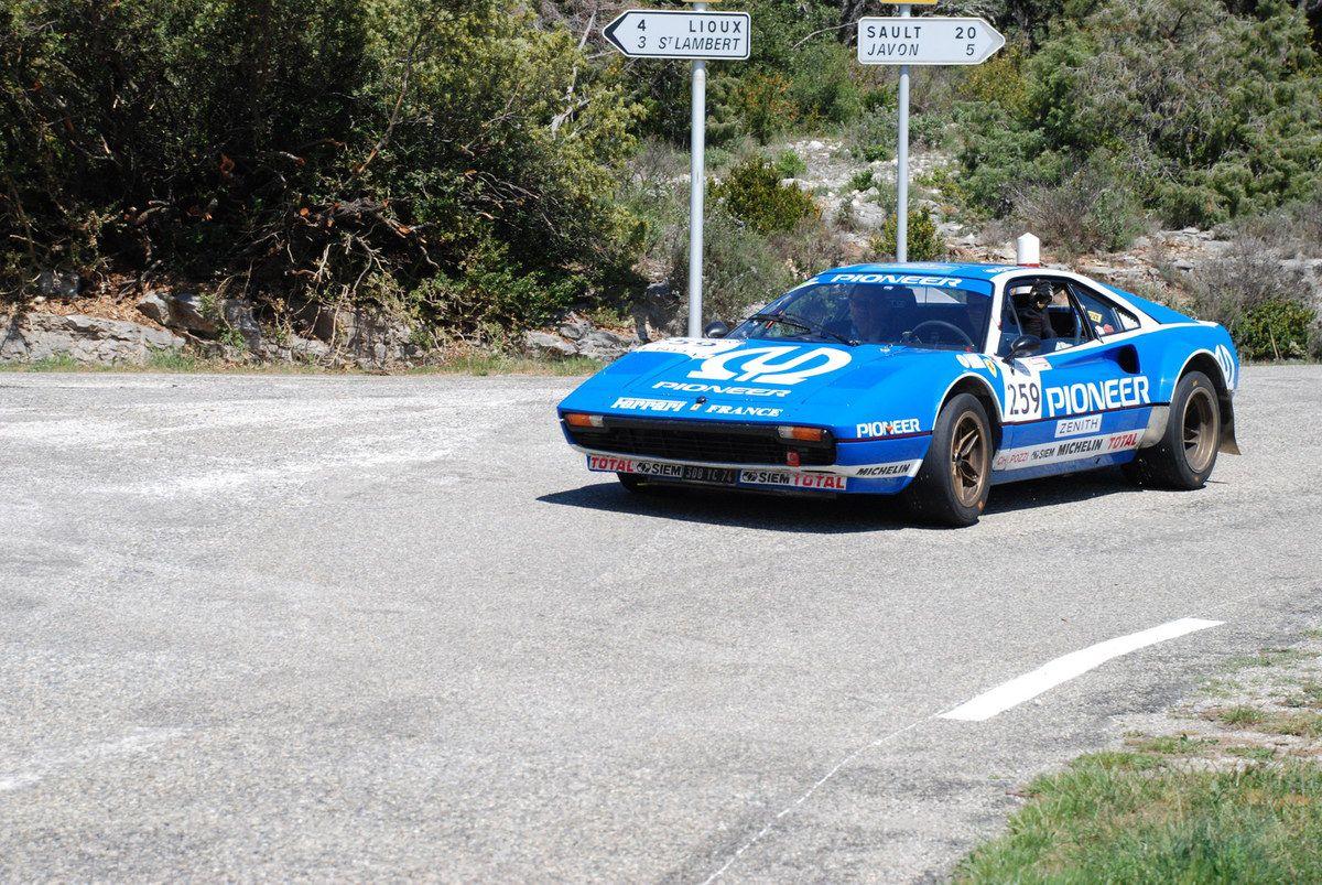 Ferrari 308 Michelotto Gr. IV 1980 ..... Photo : H.C.