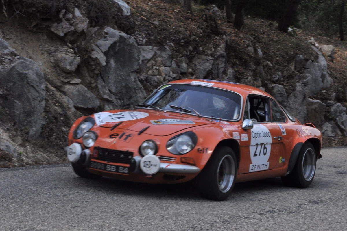 Alpine A 110 1800 Gr. IV 1970 ..... Photo : R.S.