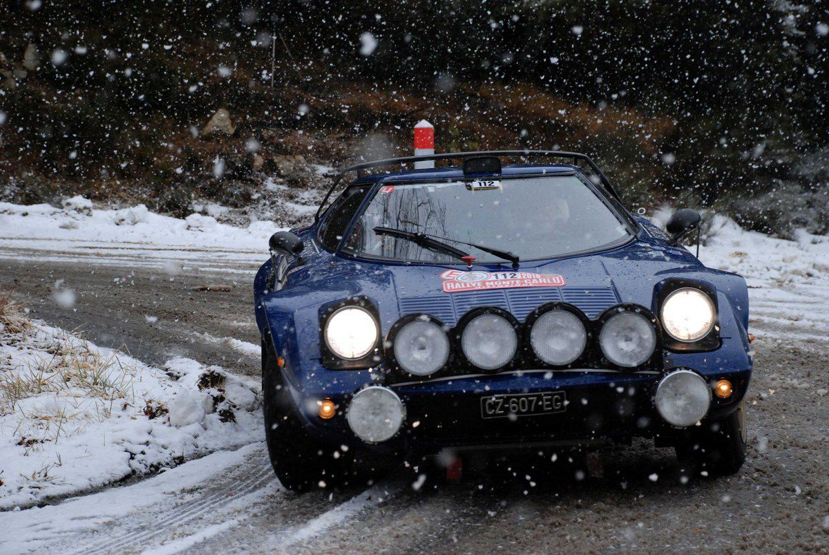 Jason Wright(I)/Stefano Traverso(I) Lancia Stratos 1976 ..... Photo : HC