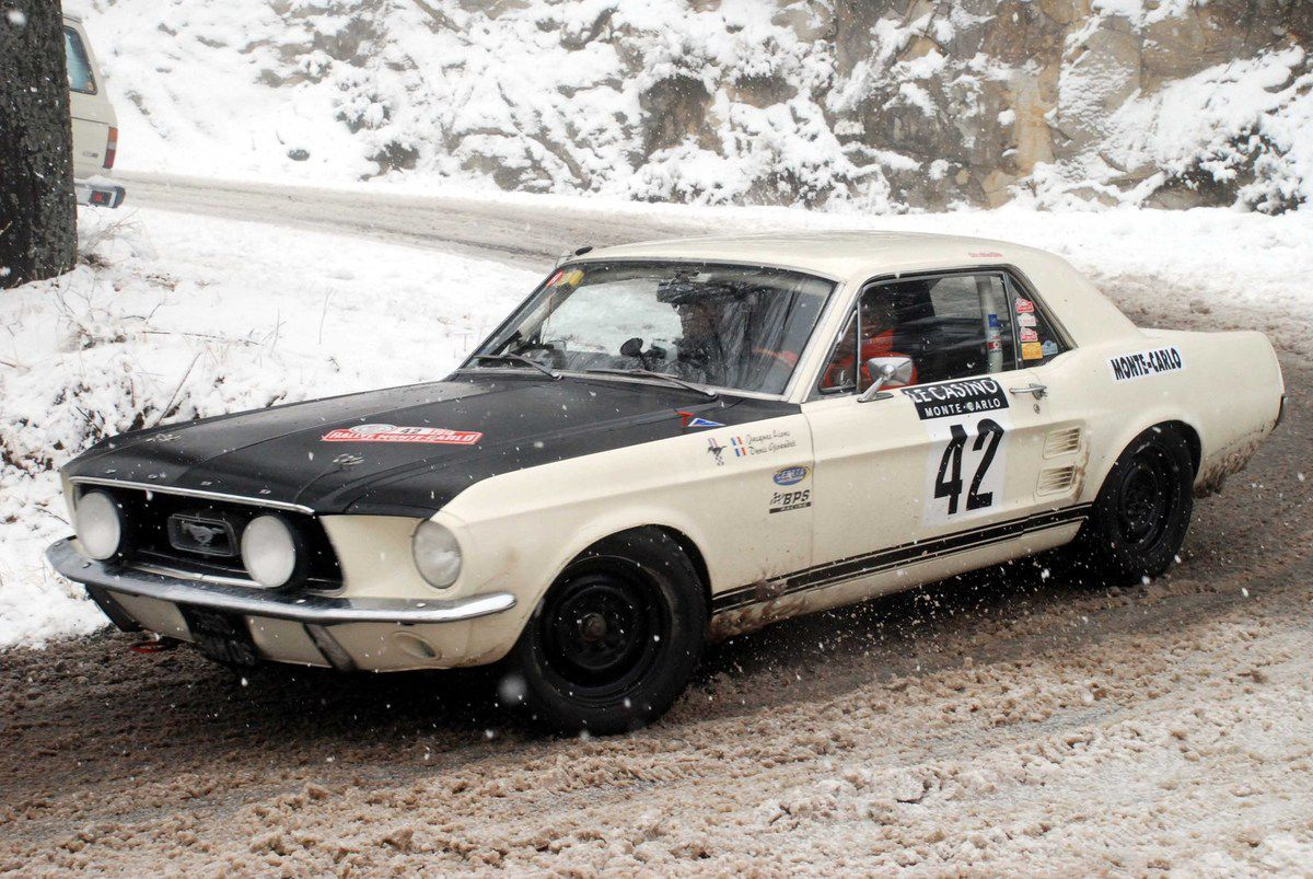 Jacques Lions(F)/Denis Giraudet(F) Ford Mustang 1967 ..... Photo : HC