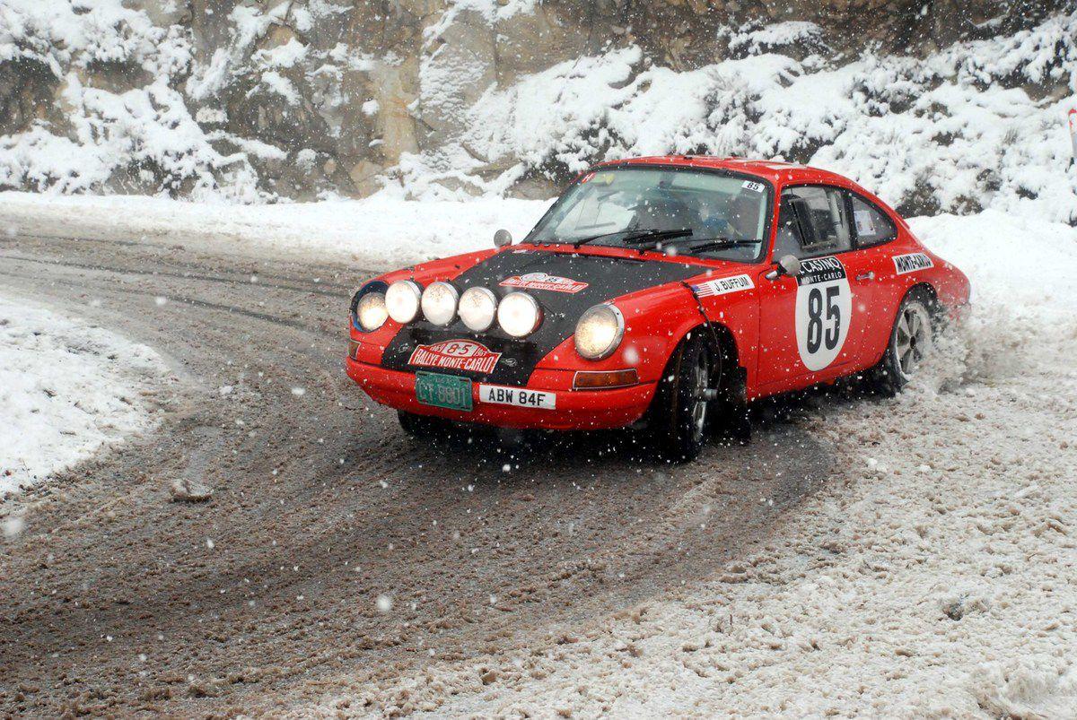 John Buffum(USA)/Ralph Beckman(USA) Porsche 911 1967 ..... Photo : HC