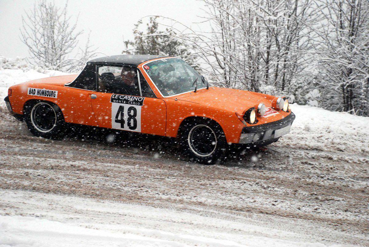 Gerd Antonius Buehler(D)/Rainer Greubel(D) Volskwagen-Porsche 914/6 1970 ..... Photo : HC