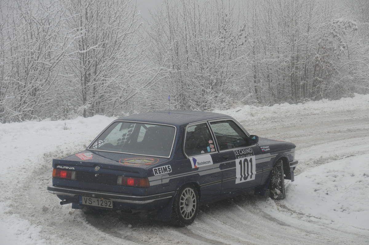 Yuri Lysenko(LVA)/Victor Polyakov(LVA)  BMW 320 i 1979 ..... Photo : RS