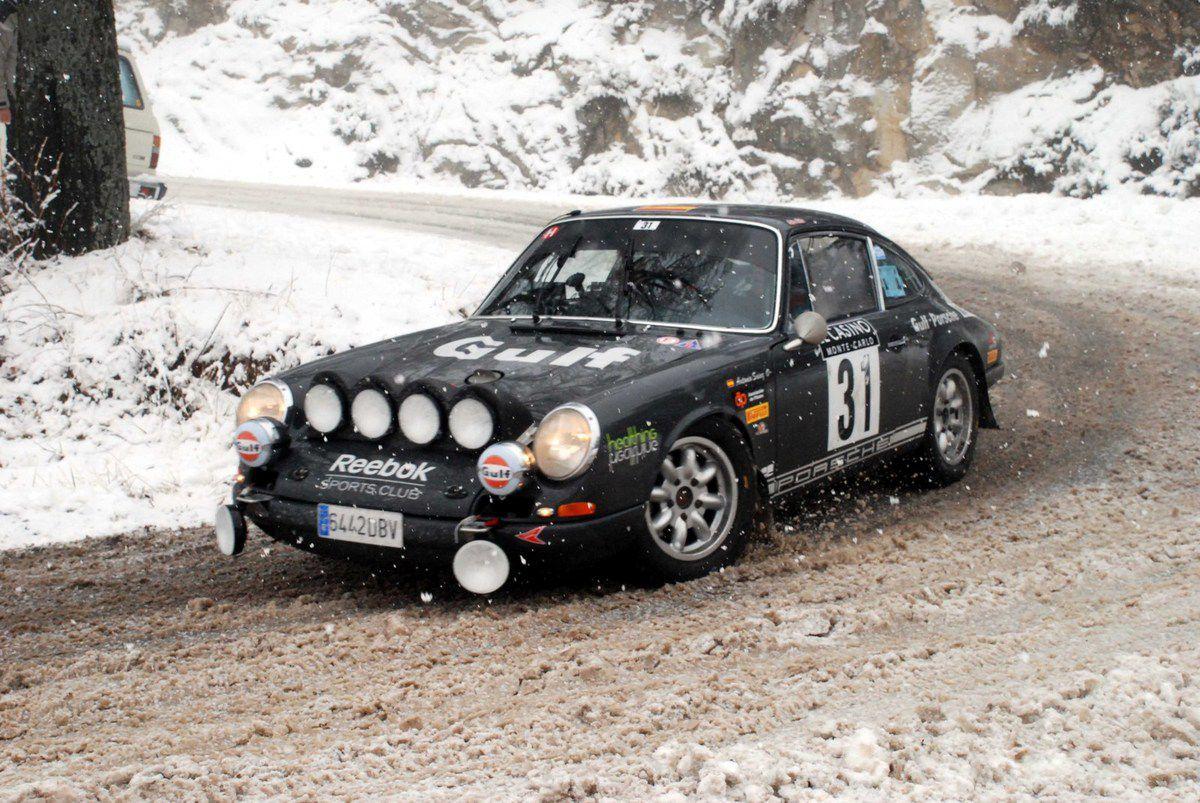 Antonio Sainz Cenamor(E)/Secundino Suarez(E) Porsche 912 1966 ..... Photo : HC
