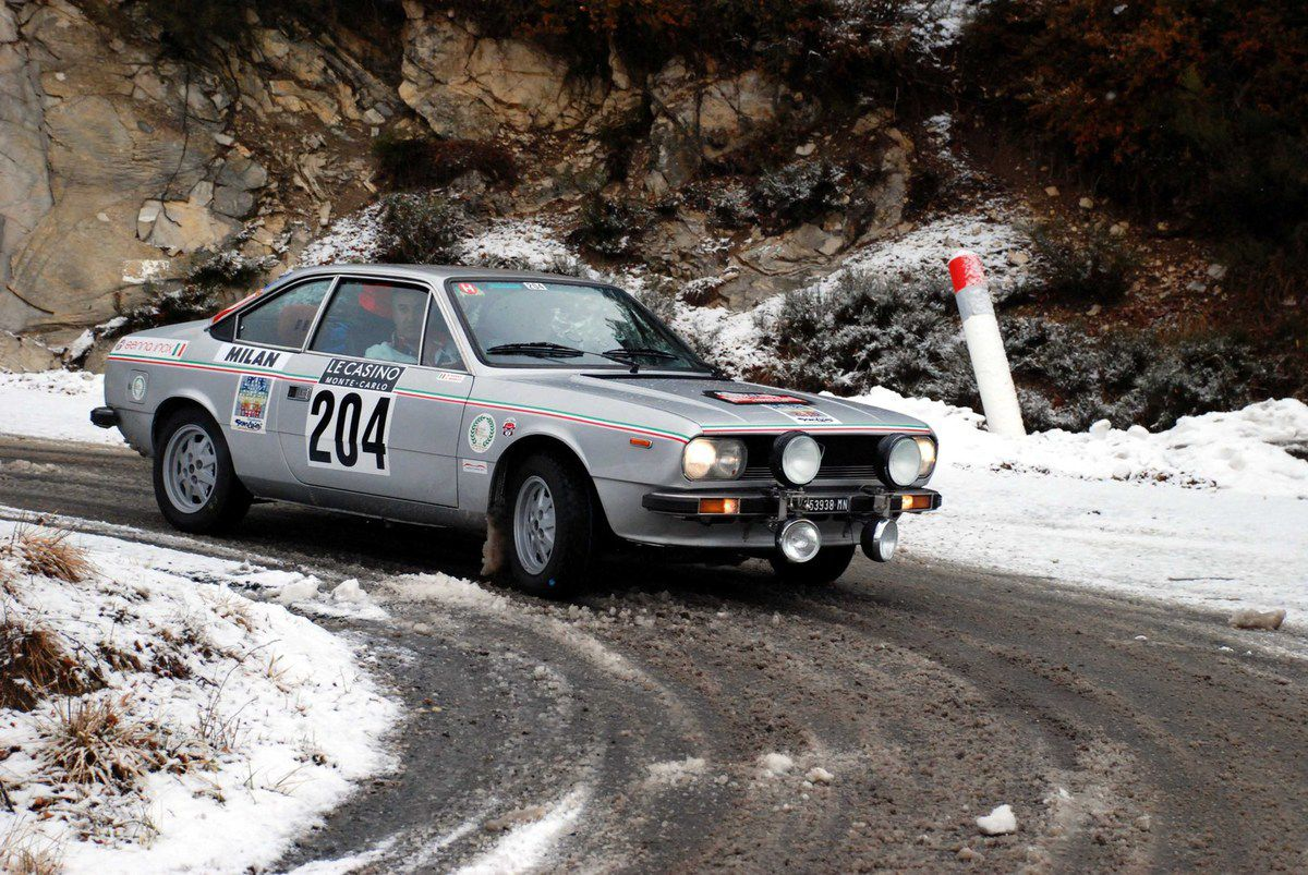 Maurizio Senna(I)/Alessandro Moretti(I) Lancia Beta Coupé 2,0 1976 ..... Photo : HC