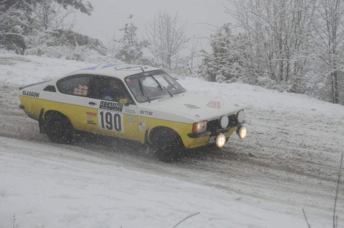 Gordon & David Glen(GB) Opel Kadett GTE 1978 ..... Photo : RS