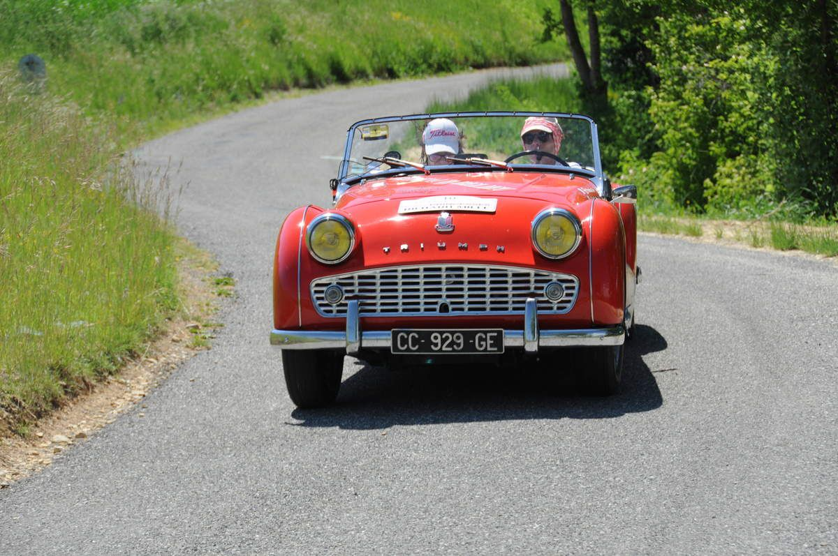 Triumph TR3 1956 ..... Photo : R.S.