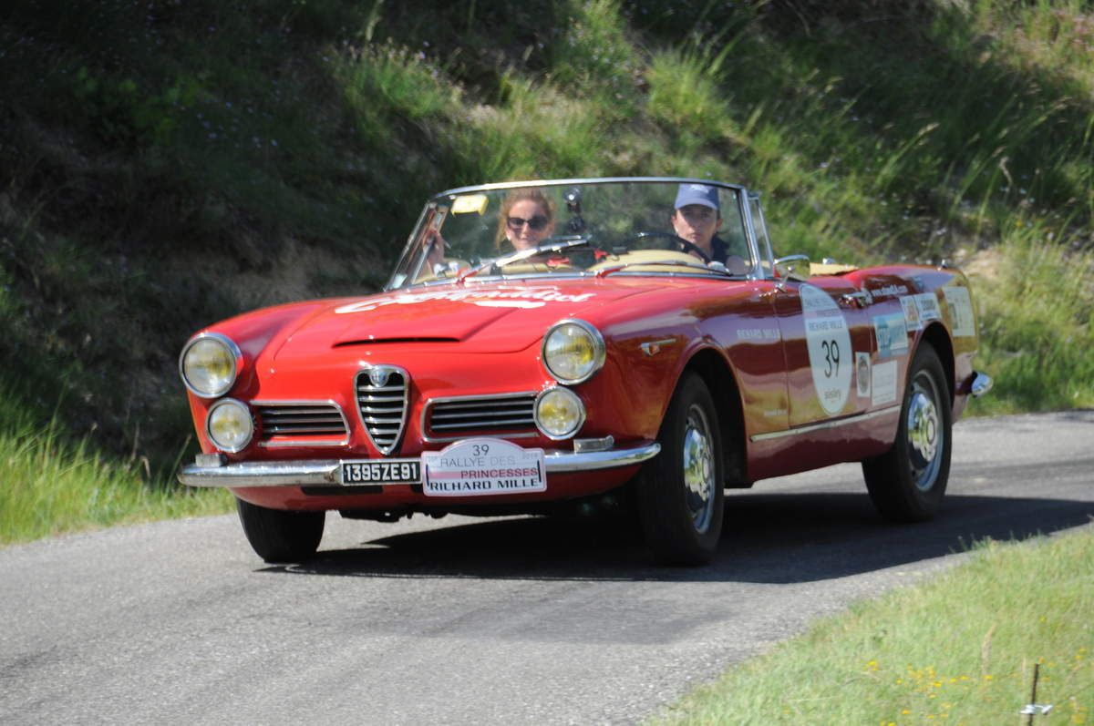 Alfa Romeo Spider 1963 ..... Photo : R.S.