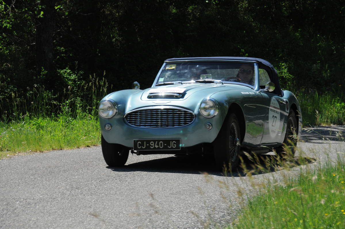 Austin Healey BT7 Mk II 1961 ..... Photo : R.S.