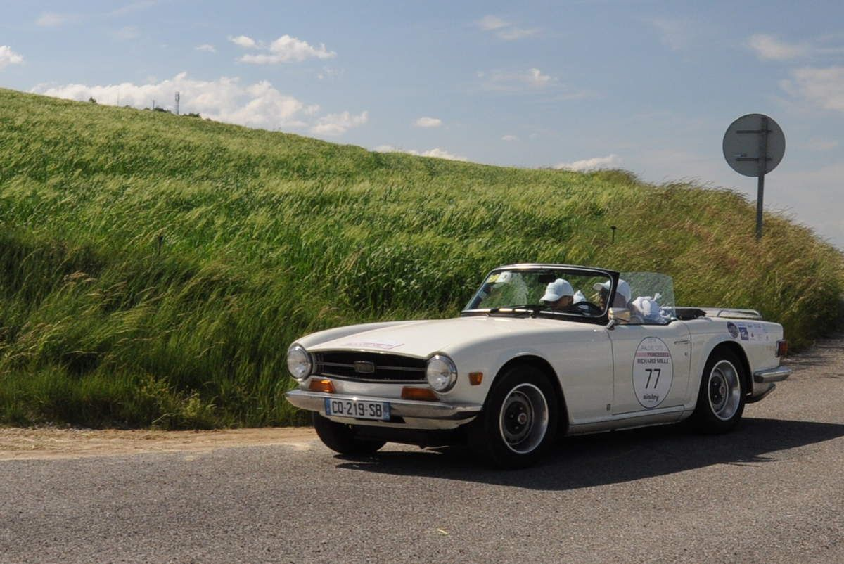 Triumph TR6 1972 ..... Photo : R.S.