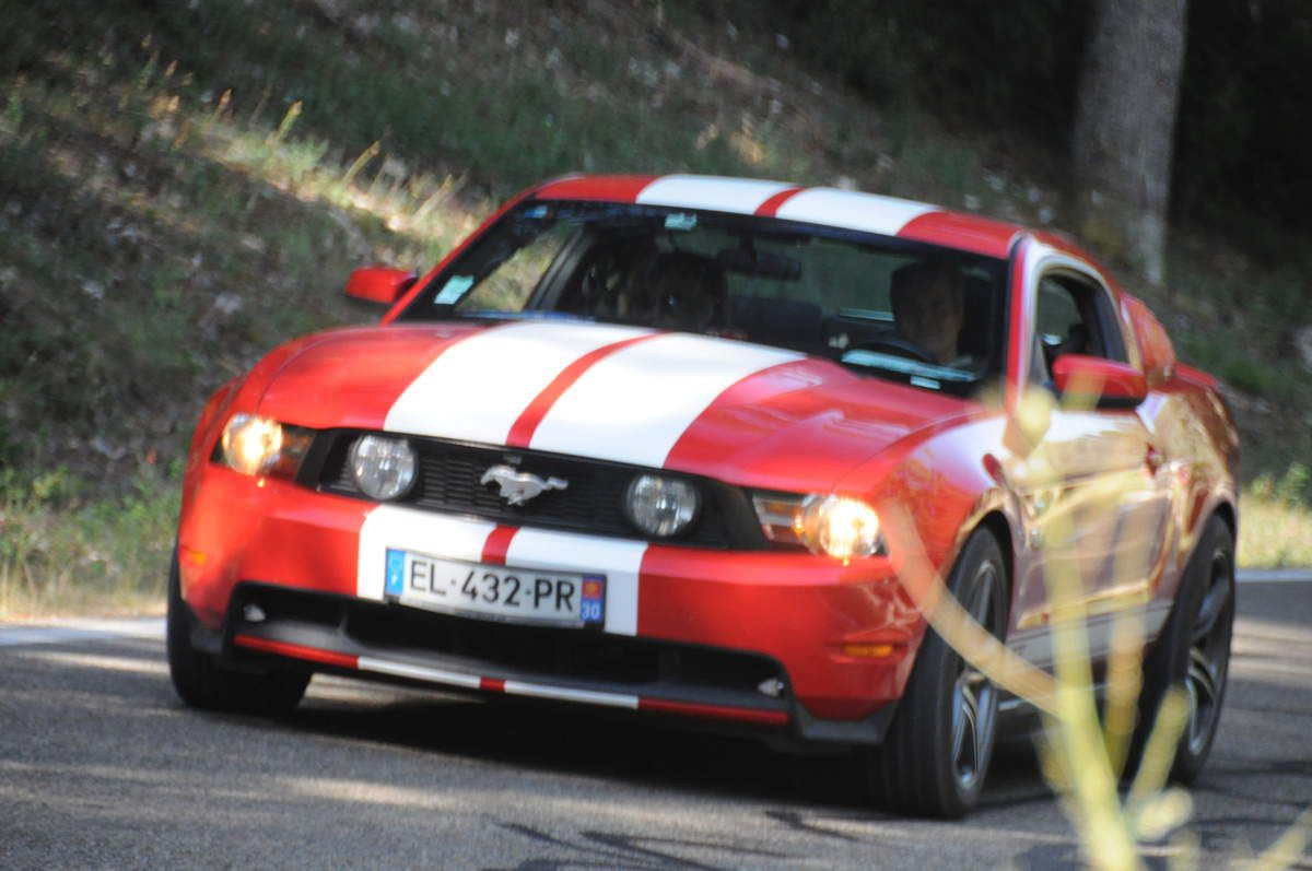 Ford Mustang ..... Photo : R.S.
