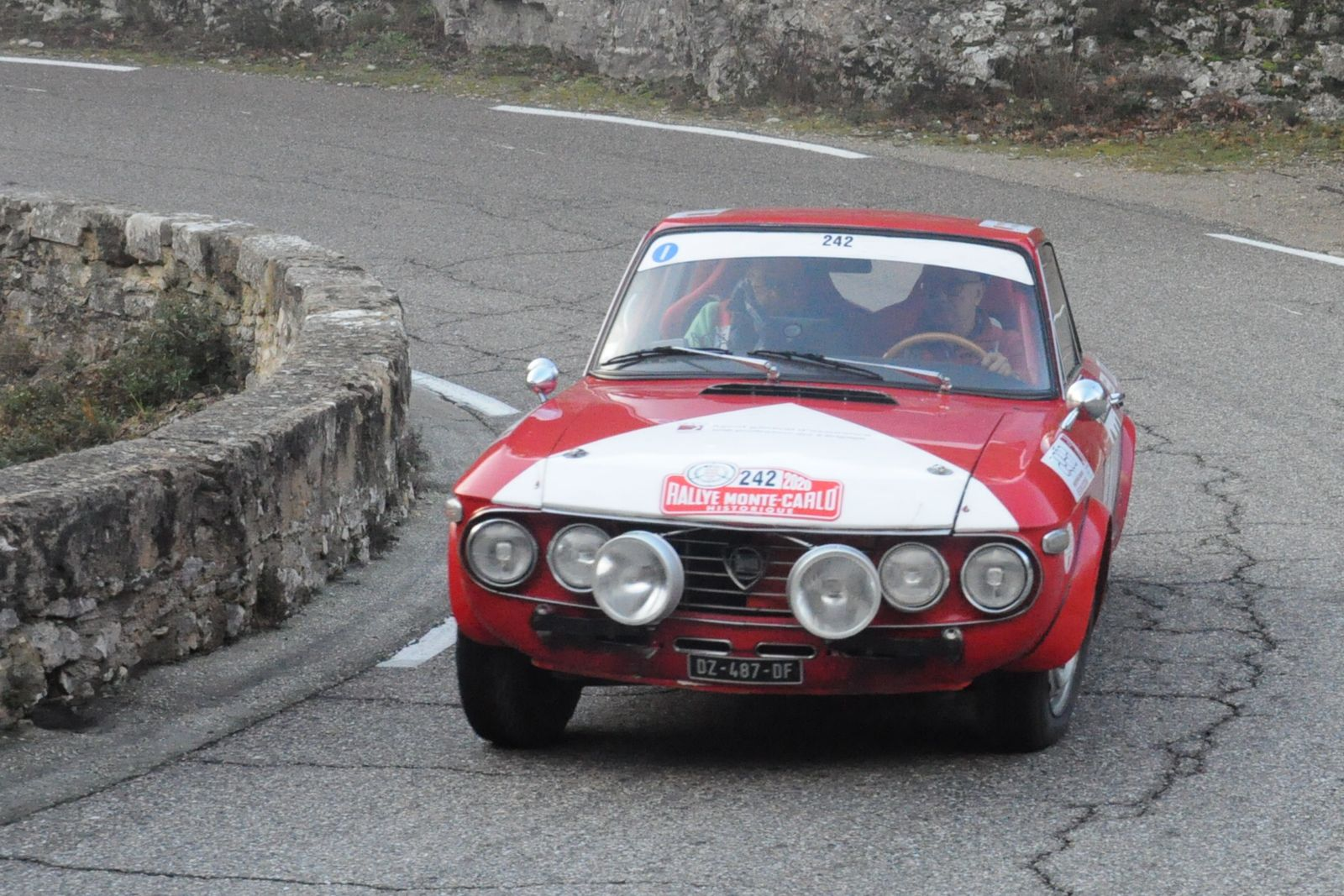 Lancia Fulvia 1,3 S Coupé 1970 ..... Photo : R.S.