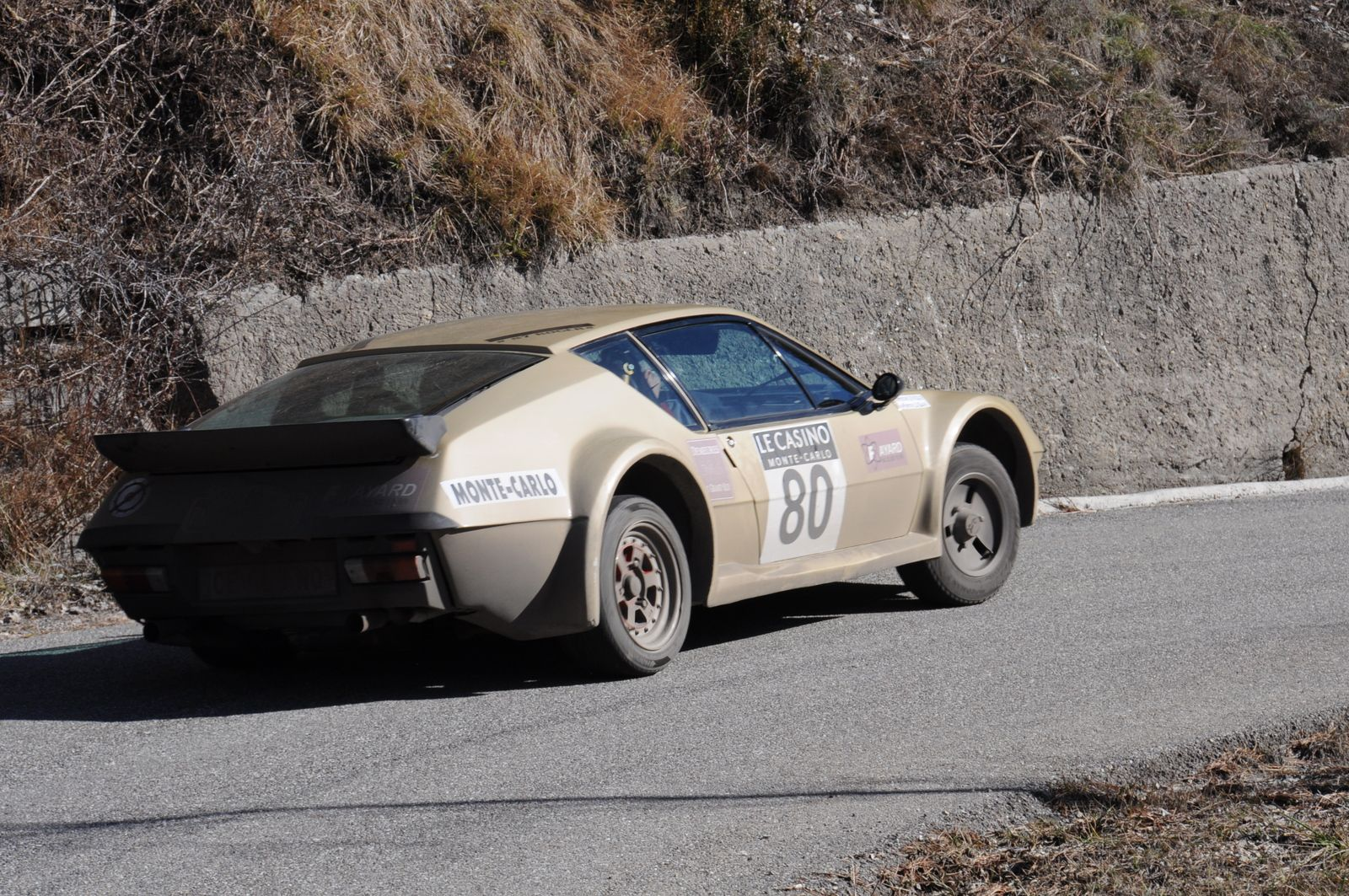 Alpine A310V6 1978 ..... Photo : R.S.