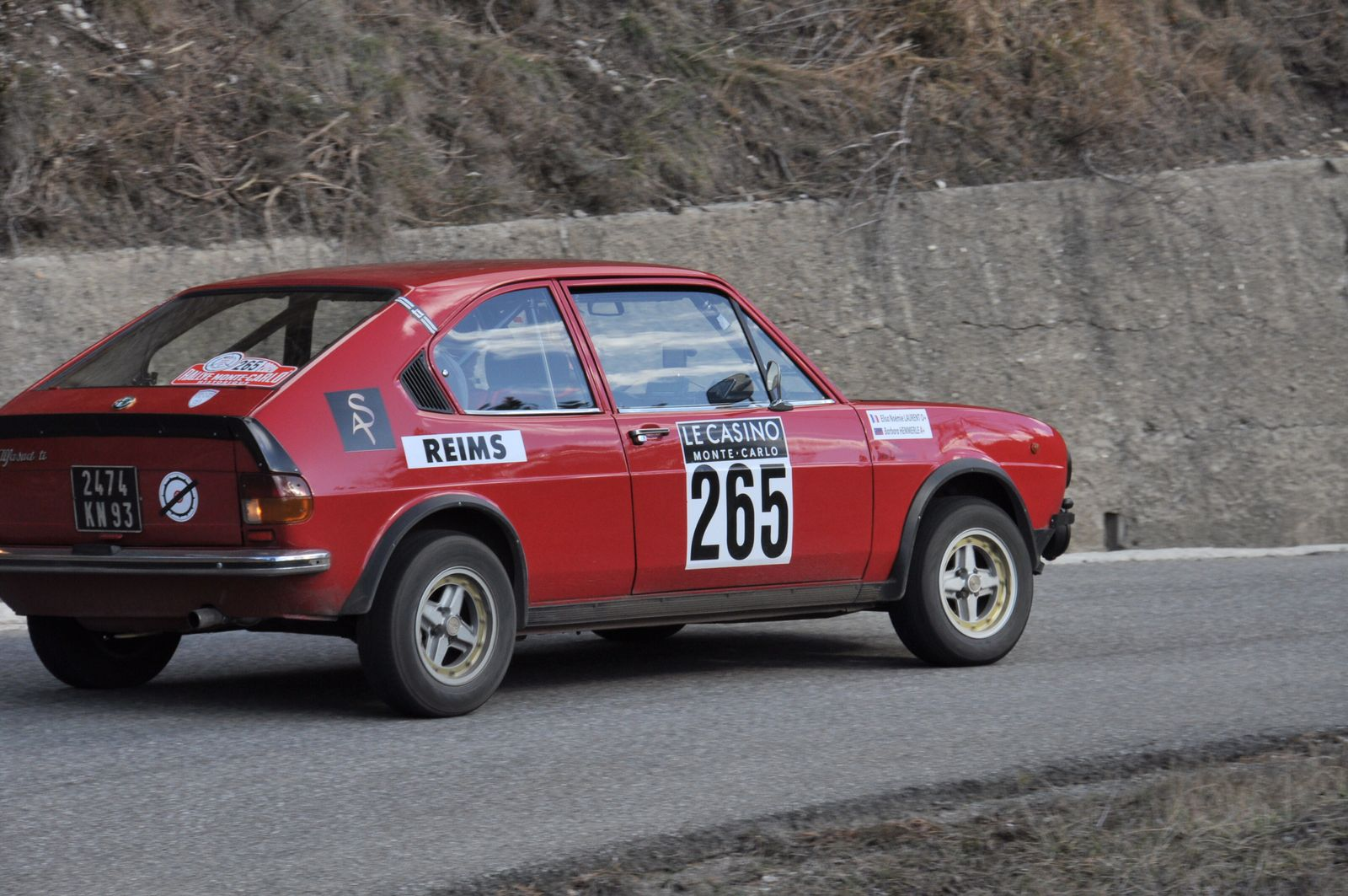 Alfa Romeo Alfasud TI 1976 ..... Photo : R.S.