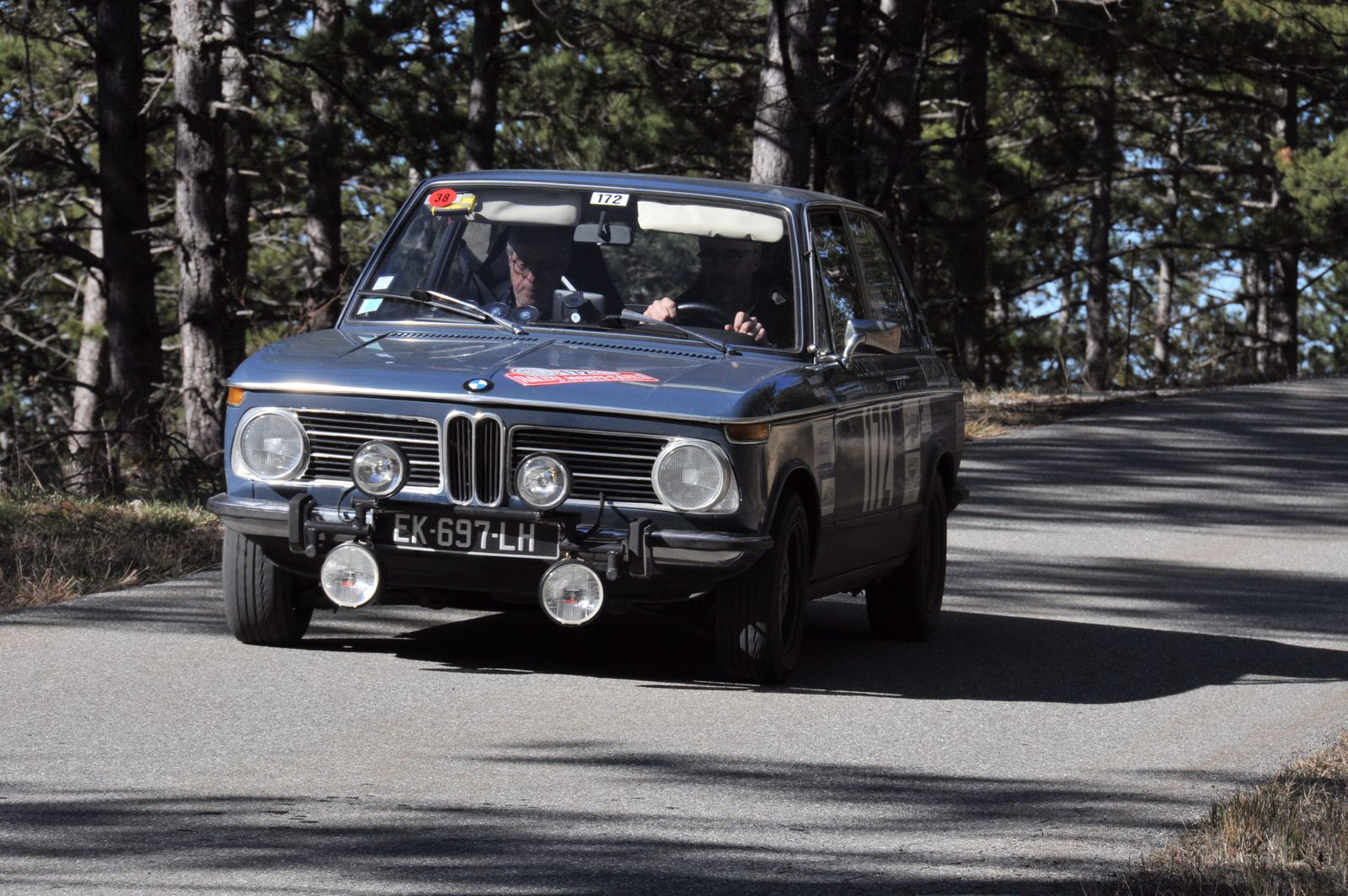 BMW 2000 tii Touring 1973 ..... Photo : RS.
