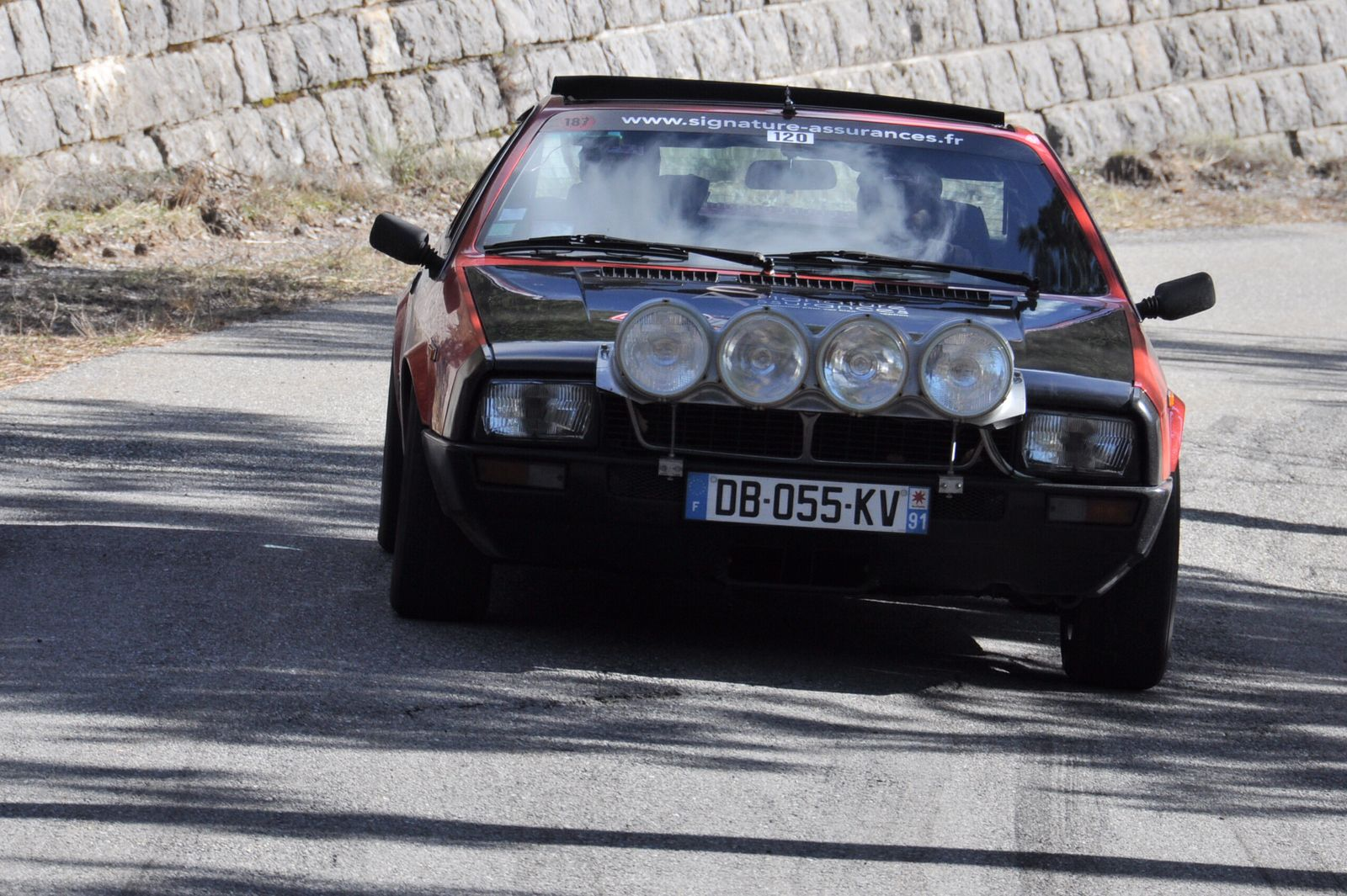 Lancia Beta Monte Carlo 1976 ..... Photo : R.S.