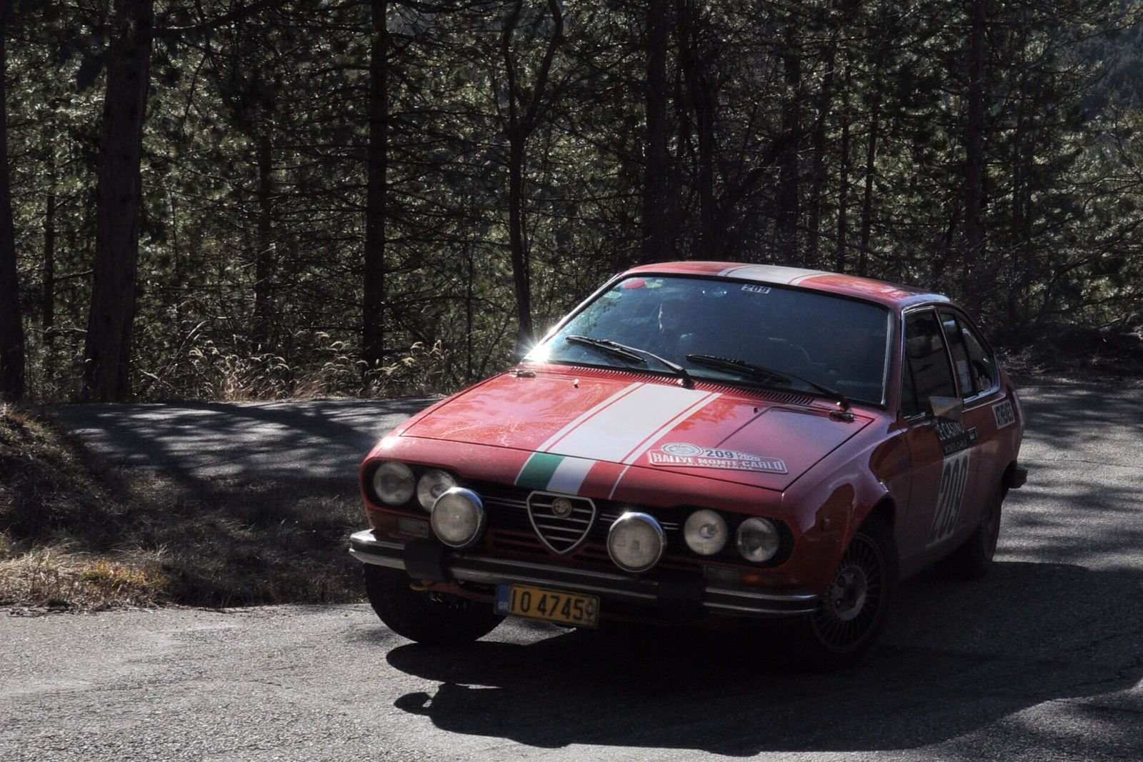 Alfa Romeo Alfetta GTV 2,0 1976 ..... Photo : R.S.
