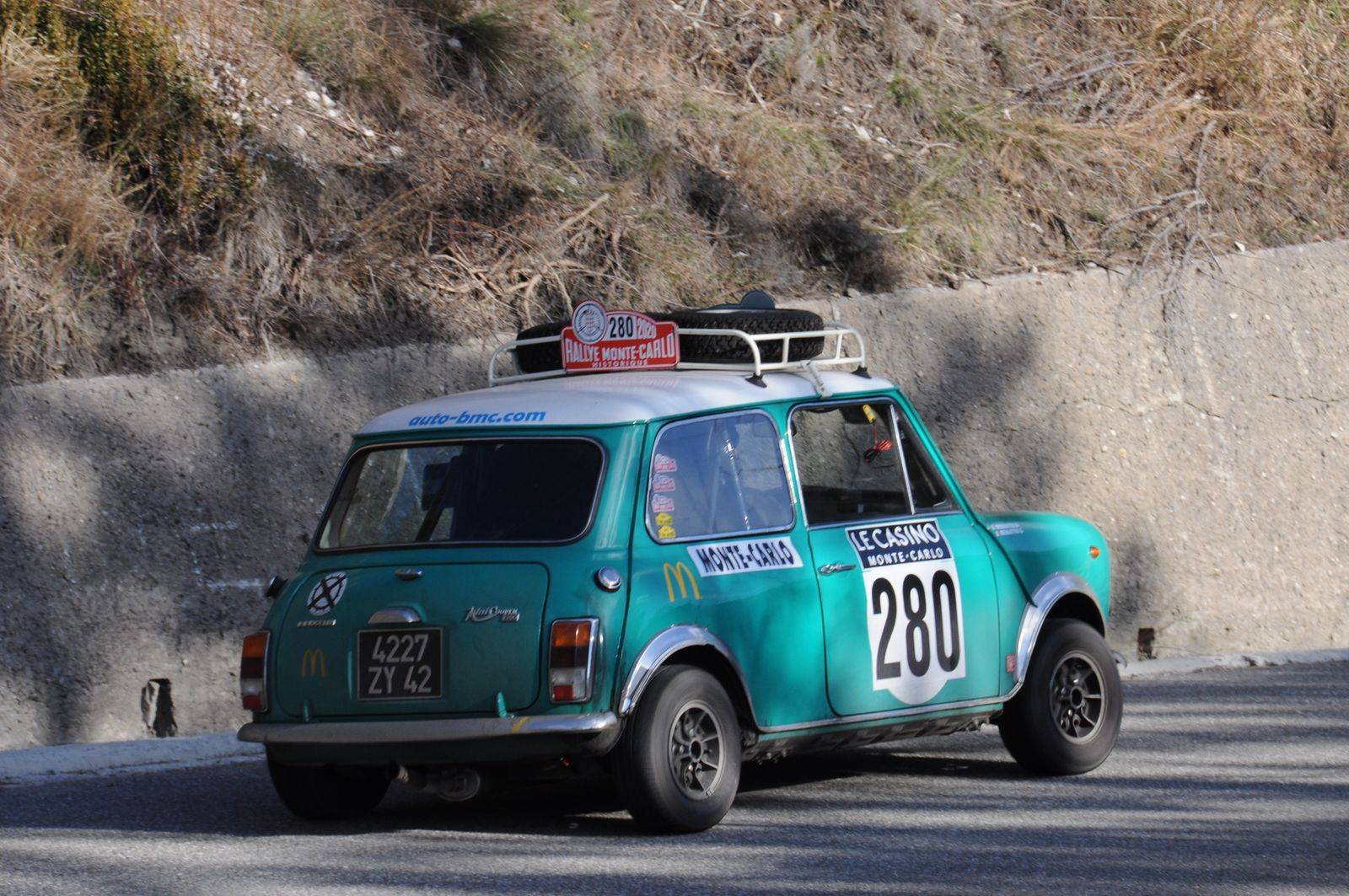 Innocenti Mini Cooper 1300 1974 ..... Photo : R.S.
