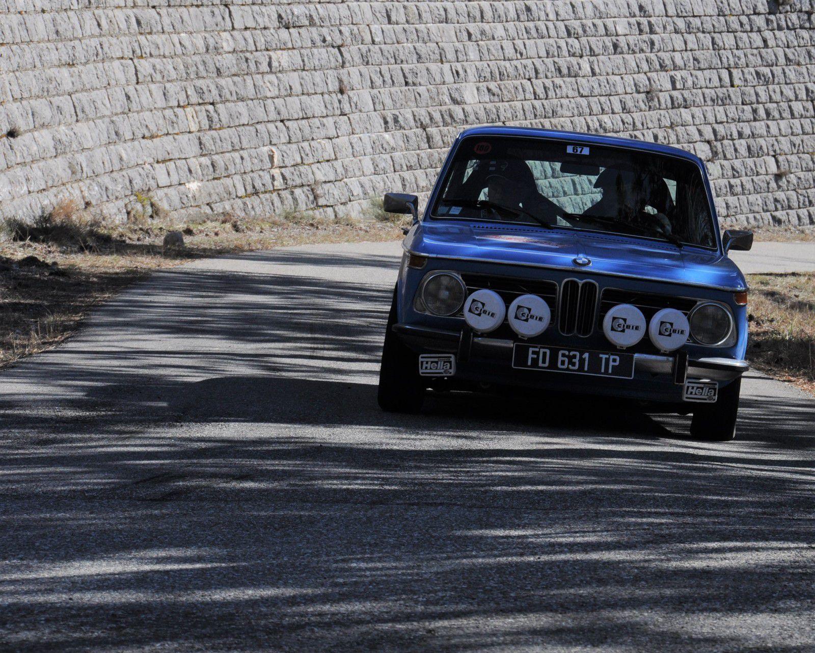 BMW 2002 tii 1971 ..... Photo : R.S.