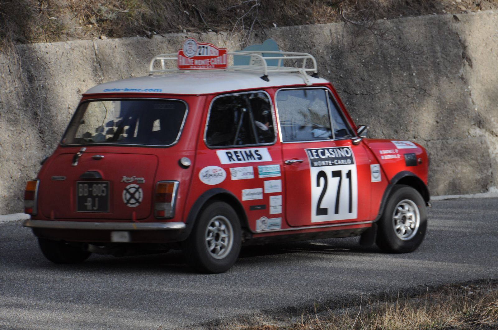 Innocenti Mini Cooper 1975 ..... Photo : R.S.
