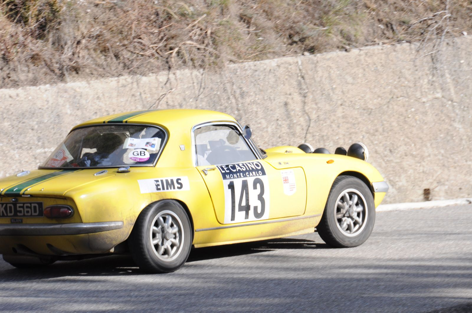 Lotus Elan 1966 ..... Photo : R.S.