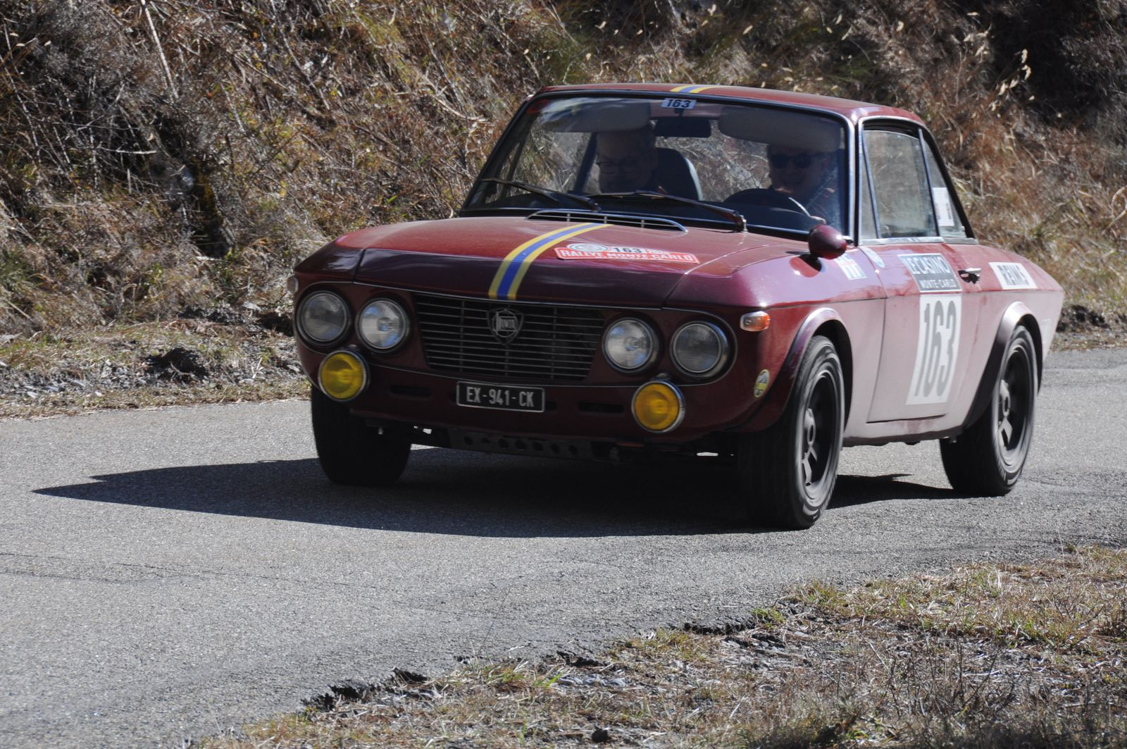 Lancia Fulvia 1,2 Coupé 1965 ..... Photo : R.S.